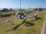 5x5 Aluminum Braked Boat Trailer